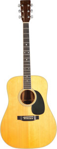 Musical Instruments:Acoustic Guitars, 1975 Martin D-35 Natural Acoustic Guitar, Serial #356535....