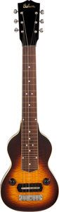 Musical Instruments:Lap Steel Guitars, Circa Late 1930's Gibson EH-150 Sunburst Lap Steel Guitar, Serial#621-9....