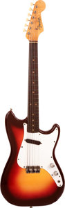 Musical Instruments:Electric Guitars, 1963 Fender Musicmaster Redburst Solid Body Electric Guitar, Serial#L05471....