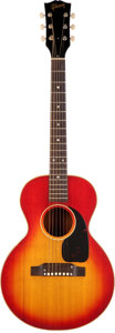 Musical Instruments:Acoustic Guitars, 1965 Gibson B-25 3/4 Cherry Sunburst Acoustic Guitar, Serial #287579....