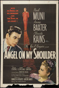 """Movie Posters:Fantasy, Angel on My Shoulder (United Artists, 1946). One Sheet (27"""" X 41"""").Fantasy.. ..."""