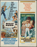 "Movie Posters:Adventure, His Majesty O'Keefe and Other Lot (Warner Brothers, 1954). Inserts(2) (14"" X 36""). Adventure.. ... (Total: 2 Items)"