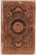 Books:Pamphlets & Tracts, [Anonymous] Jack and the Bean-Stalk, A New Version to Which isAdded Little Jane and Her Mother. Boston: William...