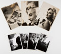 Entertainment Collectibles:Movie, Unpublished Marilyn Monroe Pictures Taken at a July 2, 1957 Opening of the Rockefeller Sidewalk Superintendent's Club. The l...