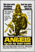 """Movie Posters:Exploitation, Angels Hard as They Come (New World, 1971). One Sheet (27"""" X 41"""").Exploitation.. ..."""