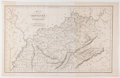 """Books:Maps & Atlases, Early 19th Century Map of Kentucky and Tennessee. 16.75"""" x 11"""", London: I.T. Hinton and Simpkin & Marshall, June 1, 1831, en..."""
