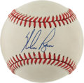 Autographs:Baseballs, Nolan Ryan Single Signed Baseball.( Feeney Ball)...