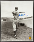Autographs:Baseballs, Ted Williams Signed Oversized Photograph. ...