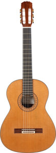 Musical Instruments:Acoustic Guitars, 1998 Eduardo Duran Ferrer Natural Classical Guitar, Serial #129....