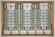 A FRANK LLOYD WRIGHT (AMERICAN 1867-1959) LEADED GLASS WINDOW FROM THE DARWIN D. MARTIN HOUSE, BUFFALO, NEW YORK Produce...
