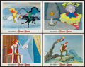 "Movie Posters:Animated, The Sword in the Stone (Buena Vista, 1963). Lobby Cards (4) (11"" X 14""). Animated.. ... (Total: 4 Items)"