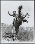 "Movie Posters:Western, Roy Rogers (Republic, 1950s). Autographed Photo (8"" X 10""). Western.. ..."