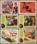 """Movie Posters:Exploitation, The Flesh Is Weak and Others Lot (DCA, 1957). Title Lobby Card andLobby Cards (5) (11"""" X 14""""). Exploitation.. ... (Total: 6 Items)"""