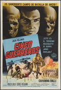 "Movie Posters:War, Warriors 5 & Other Lot (American International, 1962).Argentinean Posters (2) (29"" X 43""). War.. ... (Total: 2 Items)"