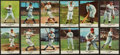 "Baseball Cards:Sets, 1961 Golden Press ""Baseball Hall of Fame"" Complete Set (33)...."