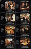 "Movie Posters:Crime, The Untouchables (Paramount, 1987). Lobby Card Set of 8 (11"" X14""). Crime.. ... (Total: 8 Items)"