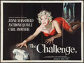 "Movie Posters:Crime, The Challenge (Alliance, 1960). British Quad (30"" X 40""). Crime.. ..."