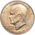 Eisenhower Dollars, 1972 $1 Type One MS66 PCGS....