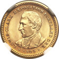 Commemorative Gold, 1905 G$1 Lewis and Clark MS65 NGC....