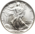 Modern Bullion Coins, 1993 $1 20th Anniversary Collection Silver Eagle MS70 NGC....