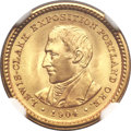 Commemorative Gold, 1904 G$1 Lewis and Clark MS66+ NGC....