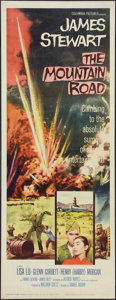 """Movie Posters:War, The Mountain Road (Columbia, 1960). Insert (14"""" X 36""""). War.. ..."""