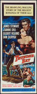 """Movie Posters:Adventure, Thunder Bay & Other Lot (Universal International, 1953). Insert(14"""" X 36"""") & Window Card (14"""" X 22""""). Adventure.. ... (Total:2 Items)"""
