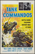 """Movie Posters:War, Tank Commandos and Other Lot (American International, 1959). OneSheets (2) (27"""" X 41""""). War.. ... (Total: 2 Items)"""