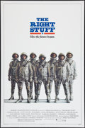"Movie Posters:Adventure, The Right Stuff (Warner Brothers, 1983). One Sheet (27"" X 41"").Advance. Adventure.. ..."