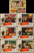 "Movie Posters:Rock and Roll, Carnival Rock and Other Lot (Howco, 1957). Lobby Cards (7) (11"" X14""). Rock and Roll.. ... (Total: 7 Items)"
