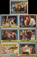 "Movie Posters:Bad Girl, The Careless Years and Other Lot (United Artists, 1958). TitleLobby Card and Lobby Cards (6) (11"" X 14""). Bad Girl.. ... (Total:7 Items)"