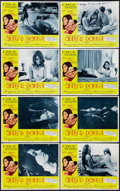"Movie Posters:Sexploitation, Cindy and Donna (Crown International, 1970). Lobby Card Set of 8(11"" X 14""). Sexploitation.. ... (Total: 8 Items)"