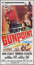 """Movie Posters:Western, Gunpoint & Other Lot (Universal, 1966). Three Sheets (2) (41"""" X 81""""). Western.. ... (Total: 2 Items)"""