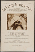 "Movie Posters:Science Fiction, Metropolis (UFA, 1927). La Petite Illustration Magazine (12 Pages,7.75"" X 11.5""). Science Fiction.. ..."
