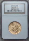 Indian Eagles, 1911-S $10 AU58 NGC....