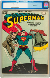 Superman #26 (DC, 1944) CGC NM- 9.2 Off-white to white pages