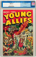 "Golden Age (1938-1955):Superhero, Young Allies Comics #15 Davis Crippen (""D"" Copy) pedigree (Timely, 1945) CGC NM 9.4 Cream to off-white pages...."