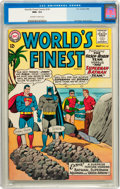 Silver Age (1956-1969):Superhero, World's Finest Comics #141 (DC, 1964) CGC NM+ 9.6 Off-white to white pages....