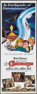 "Movie Posters:Adventure, In Search of the Castaways (Buena Vista, 1962). Insert (14"" X 36"").Adventure.. ..."