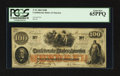 Confederate Notes:1862 Issues, T41 $100 1862 PF-11.. ...