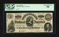 Confederate Notes:1863 Issues, T56 $100 1863 PF-2.. ...