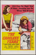 """Movie Posters:Bad Girl, The Careless Years (United Artists, 1958). One Sheet (27"""" X 41"""").Bad Girl.. ..."""