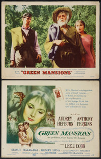 """Green Mansions (MGM, 1959). Title Lobby Card and Lobby Card (11"""" X 14""""). Drama. ... (Total: 2 Items)"""
