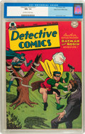 Golden Age (1938-1955):Superhero, Detective Comics #121 Mile High pedigree (DC, 1947) CGC NM+ 9.6 Off-white to white pages....