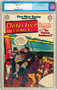 Detective Comics #170 Mile High pedigree (DC, 1951) CGC NM+ 9.6 White pages