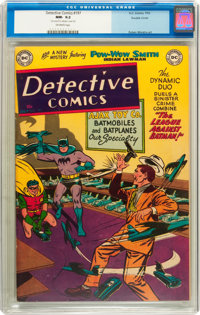 Detective Comics #197 Double Cover (DC, 1953) CGC NM- 9.2 Off-white pages