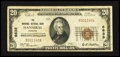 National Bank Notes:Missouri, Hannibal, MO - $20 1929 Ty. 1 The Hannibal NB Ch. # 6635. ...