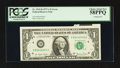 Error Notes:Printed Tears, Fr. 1910-D $1 1977A Federal Reserve Note. PCGS Choice About New58PPQ. Fr. 1910-K $1 1977A Federal Reserve Note. PCGS Choice N...(Total: 2 notes)