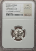 Ancients:Greek, Ancients: THRACE. Istrus. Ca. 4th-3rd century BC. AR drachm (5.65gm). ...