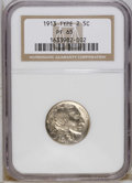 Proof Buffalo Nickels: , 1913 5C Type Two PR65 NGC. NGC Census: (63/111). PCGS Population(85/118). Mintage: 1,514. Numismedia Wsl. Price: $1,975. (...